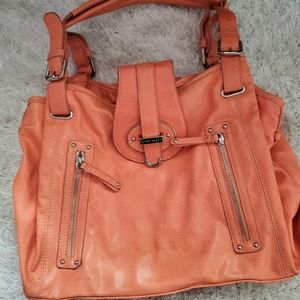 Nine west orange bright purse